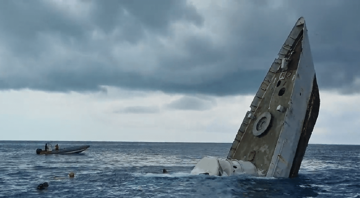 Stuart Cove Releases Footage Of The Sinking Of Another