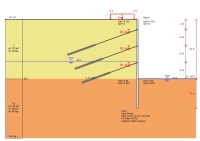 50ft deep excavation design example - Deep Excavation