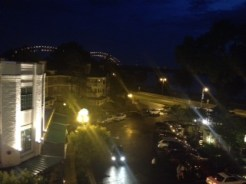 River Terrace Restaurant: Night View