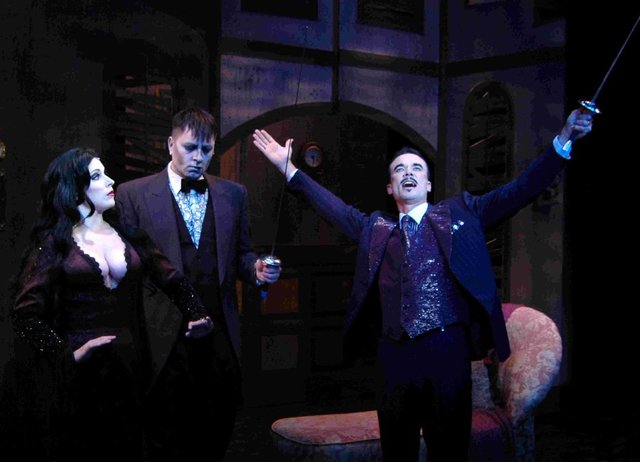 Addams Family: Gomez, Morticia, & Lurch