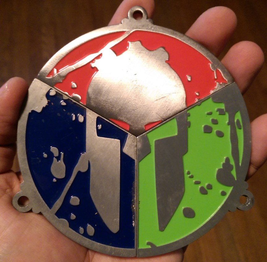 2014 Trifecta Medal