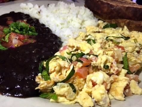 Huevos Yucatecan were so yummy.