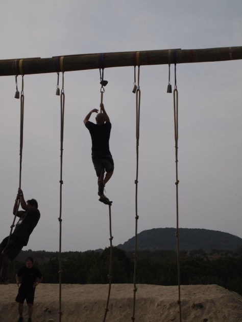 Rope Climb Obstacle