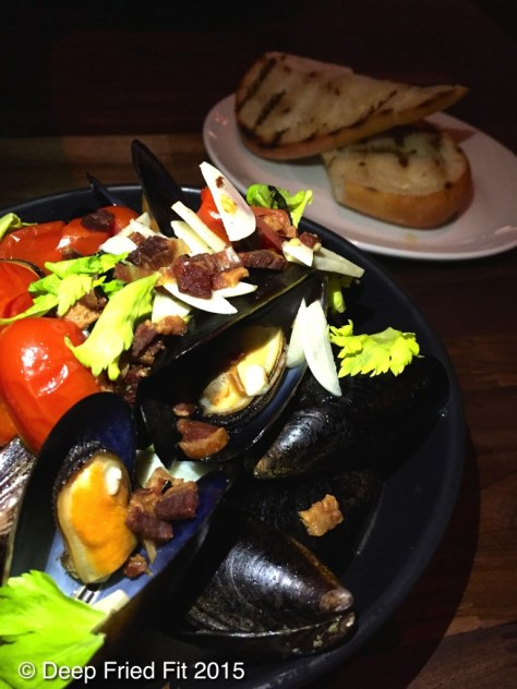 Golden Ale Mussels were a delicious starter.