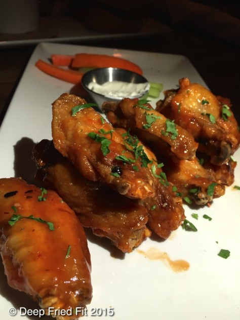Eureka hot wings