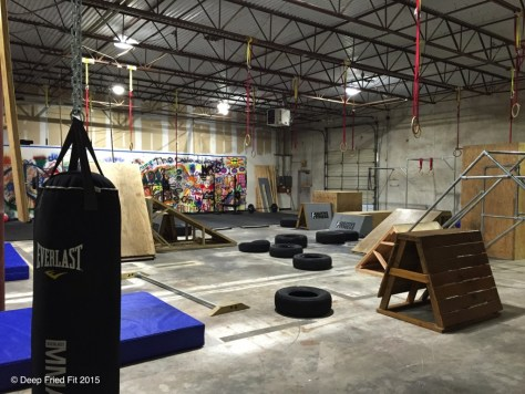 Fugitive Fitness and Parkour is the only parkour gym in Dallas. It's a new add to the studio list!