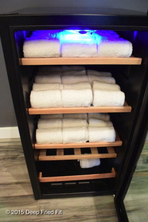 Cool eucalyptus towels