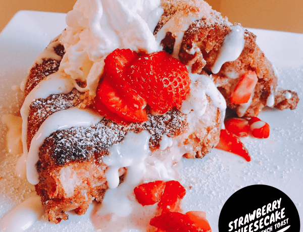 strawberry cheesecake crunch french toast