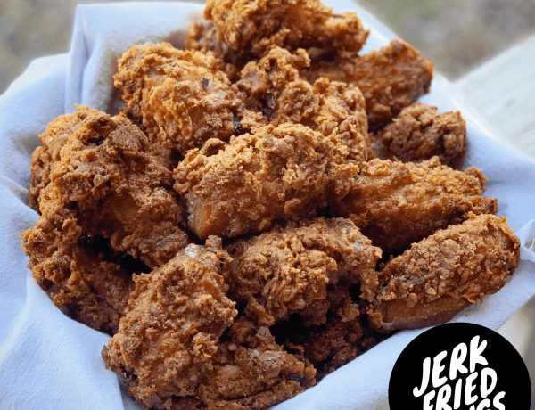 jerk fried chicken wings