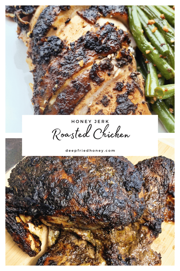 honey jerk roasted chicken