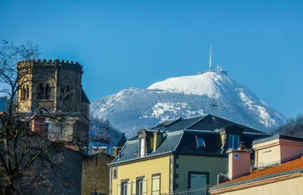 The Puy de Dome overlooking Clermont-Ferrand © 2016 Richard Alexander