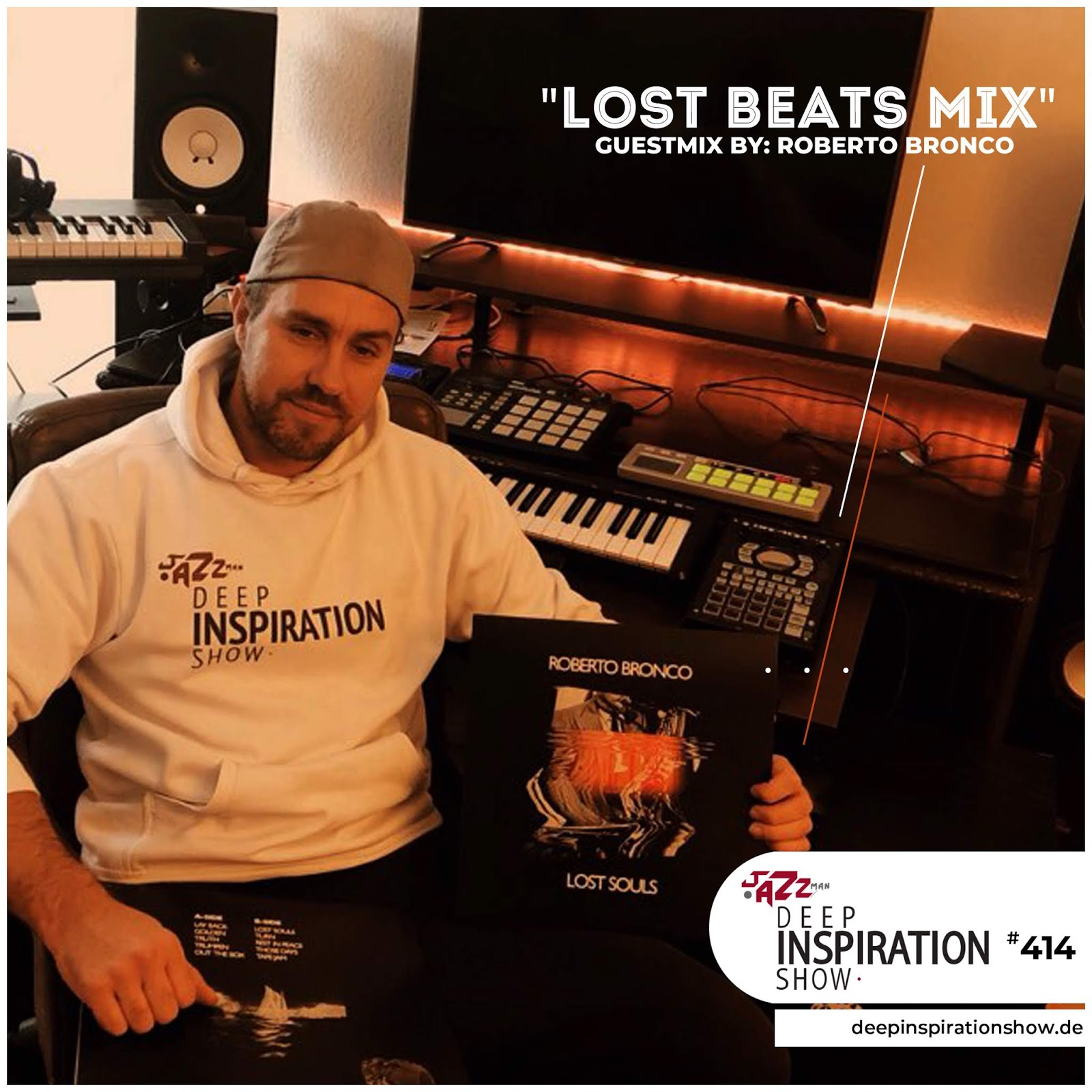 """Show 414 """"Guestmix by Roberto Bronco"""" [LOST BEATS TAPE]"""