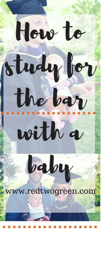 study for the bar with a baby