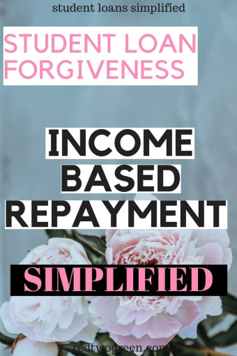 income based repayment