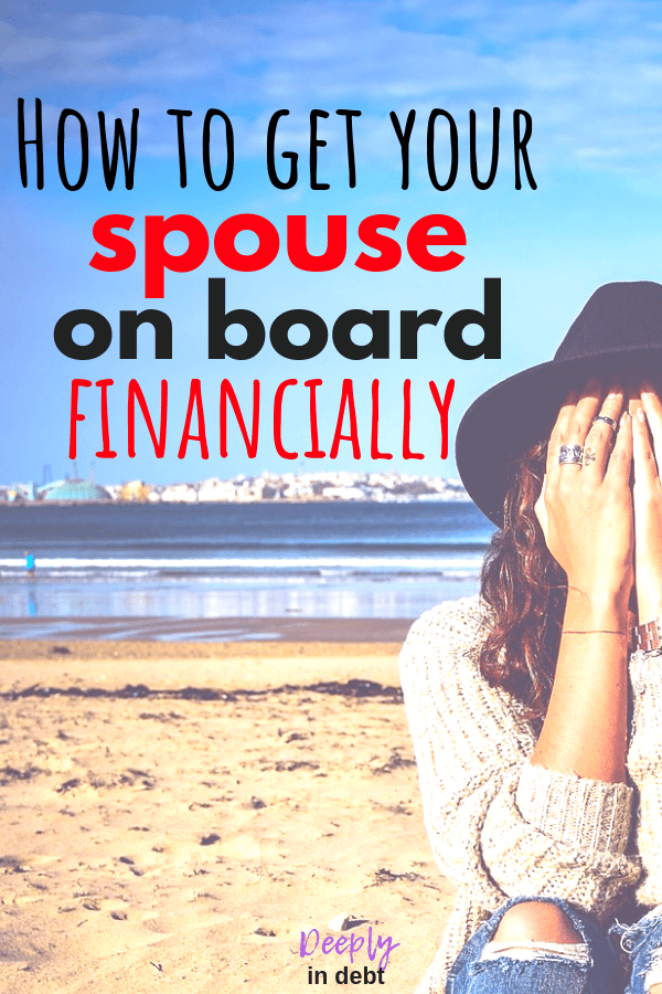 get your spouse on board financially
