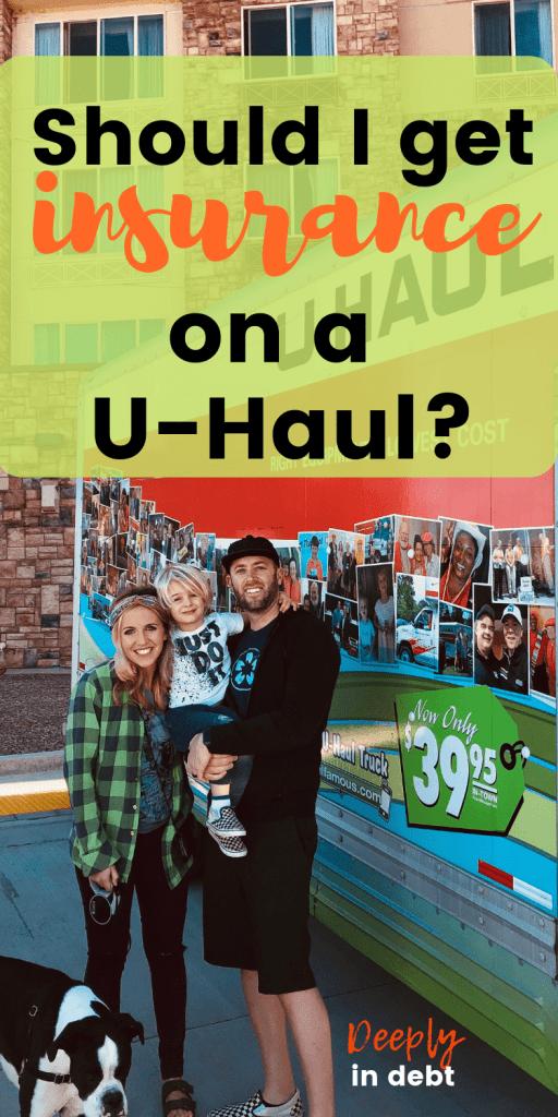 insurance on a u-haul