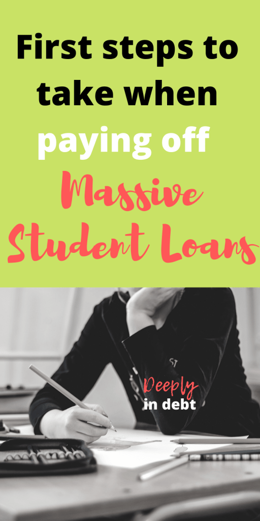 paying off massive student loans
