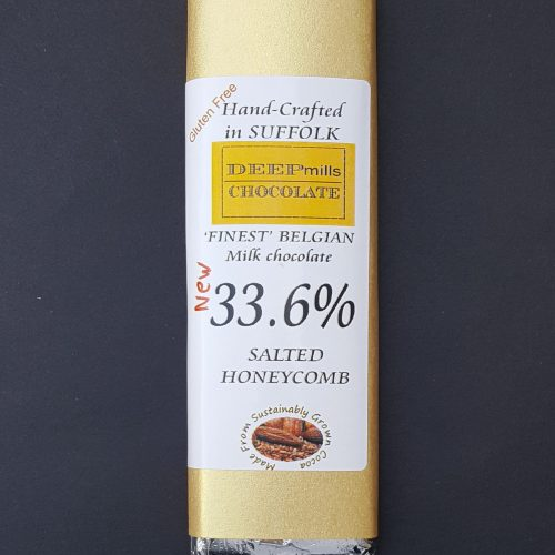 Milk Chocolate Salted Honeycomb 33.6%