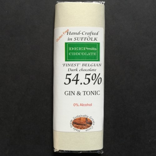 Gin & Tonic Dark Chocolate 54.5%