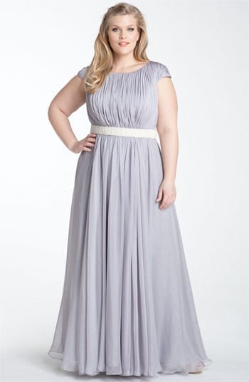 Purple Plus Size Dresses For Weddings