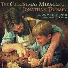 The Christmas Miracle of Jonathan Toomey, book, author,  Susan Wojciechowski