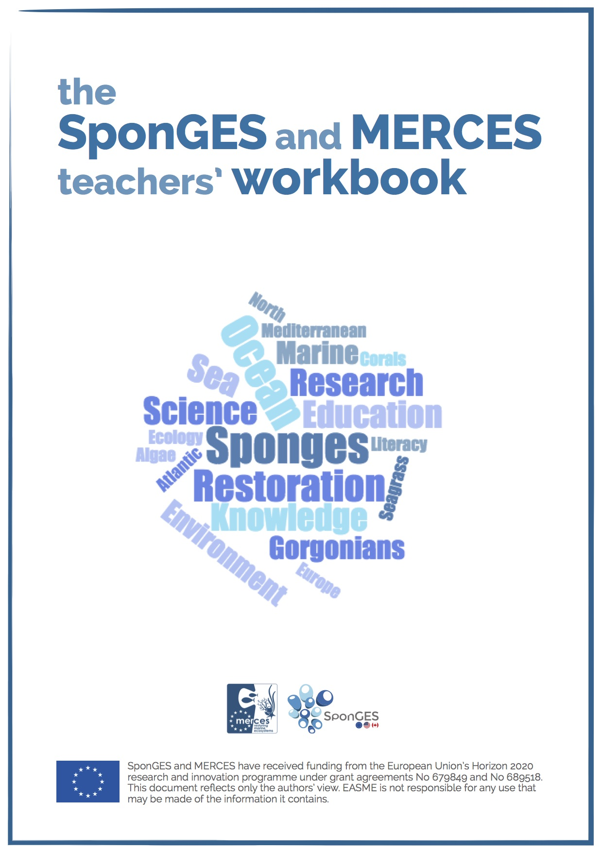 The SponGES and MERCES teachers' workbook