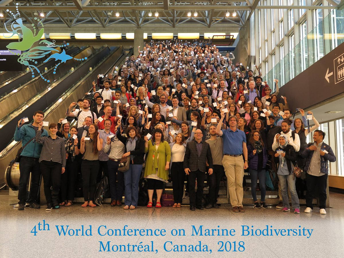 SponGES, MERCES and Atlas – together at the World Conference on Marine Biodiversity 2018