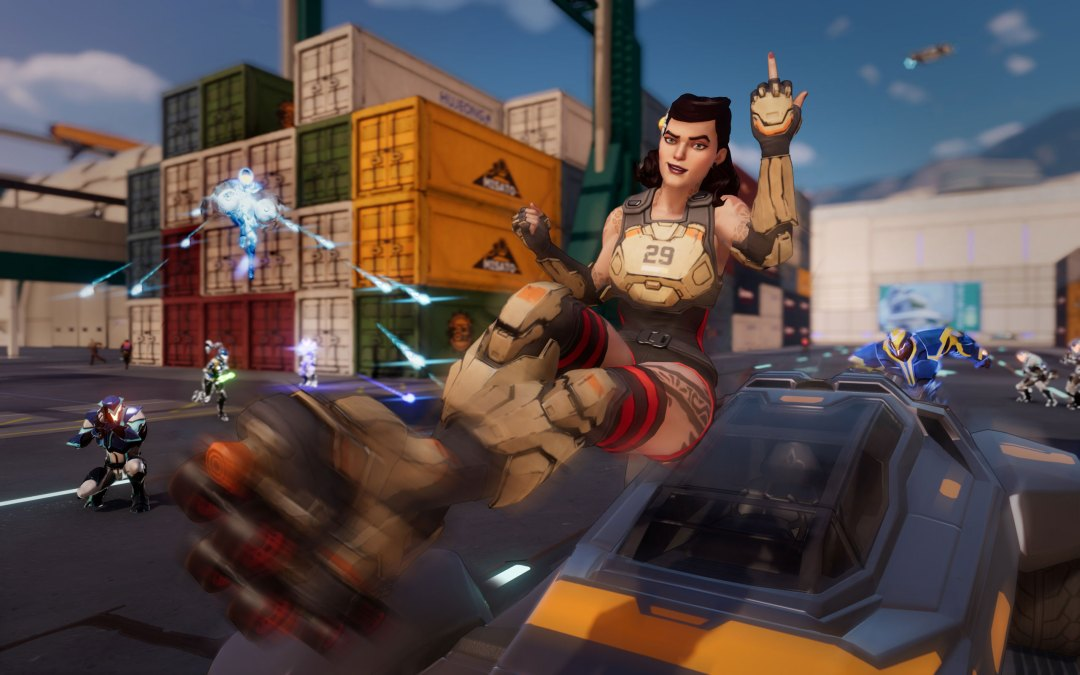 Agents Of Mayhem – Bad Vs. Evil Gameplay Trailer