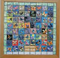 Butterfly ceramic tile mural art project fro kids | Deep ...