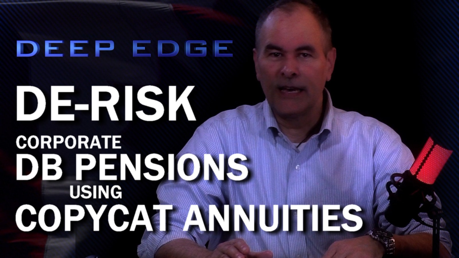 De-Risk DB Pension Plans Using Copycat Annuities