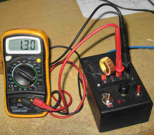 Inductance Meter Circuit