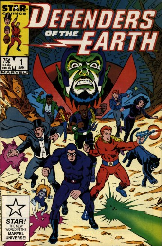 Marvel Comics, Defenders of the Earth