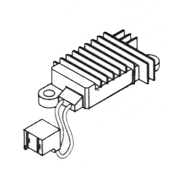 Alternator Ledningsdiagram Delco Remy