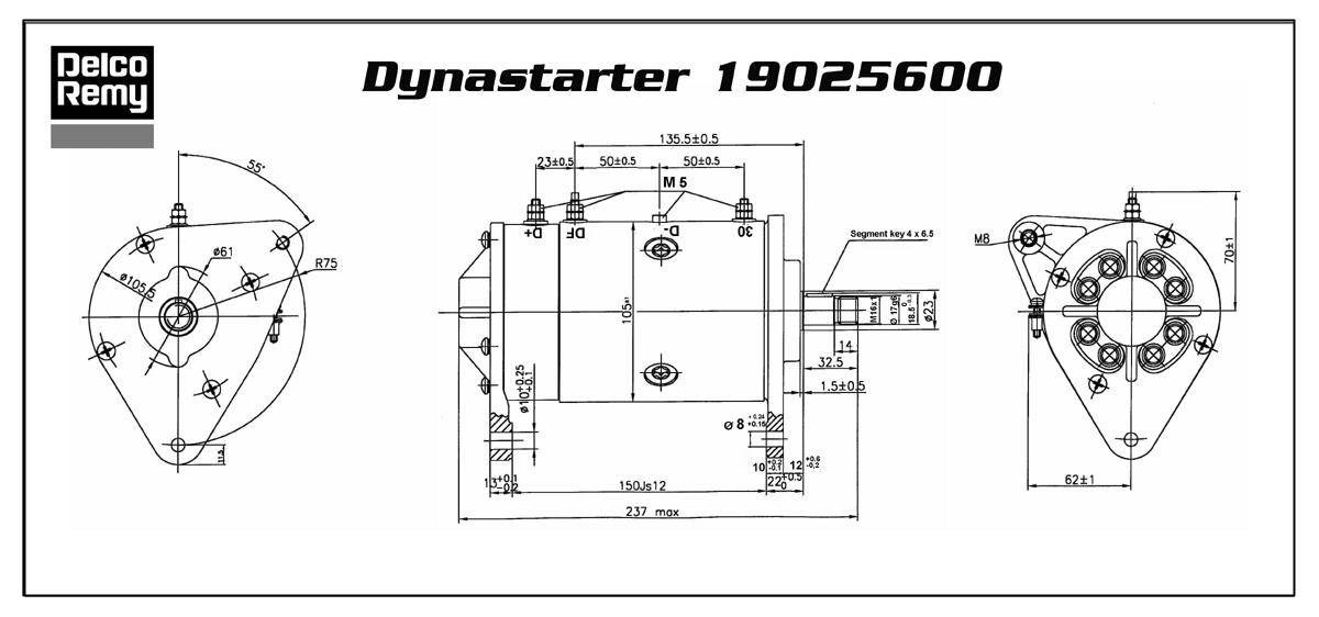 lucas dynastart wiring diagram maytag dryer belt replacement bosch universal alternator auto electrical 30 images