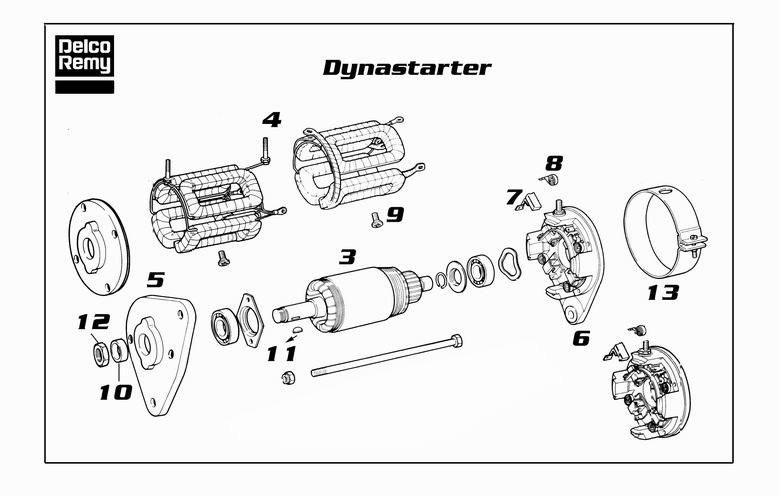 DRE19025601 DYNASTART REMY Deer-online.com Alternator
