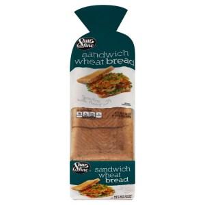 SHURFINE WHEAT SANDWICH BREAD, 1 LOAF