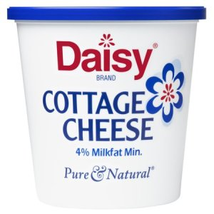 DAISY COTTAGE CHEESE 4%, 24OZ