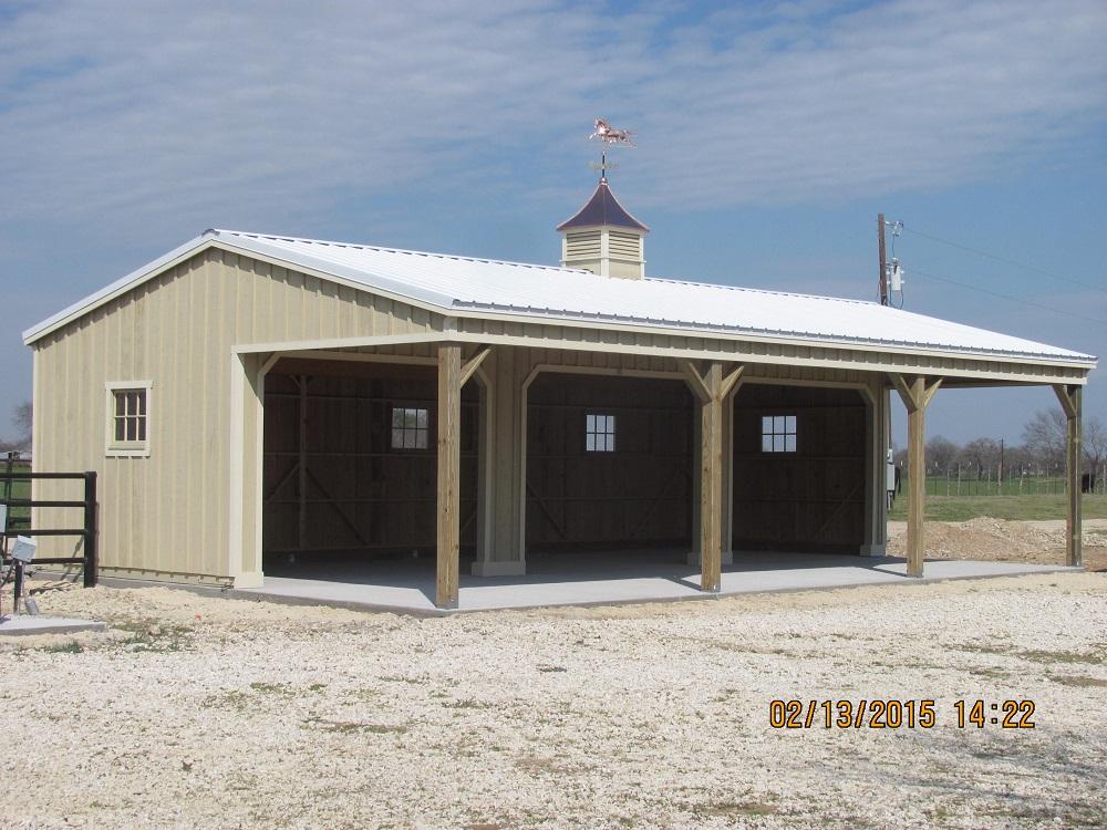 10 Portable Horse Barns  Shedrow Barns  Deer Creek Structures