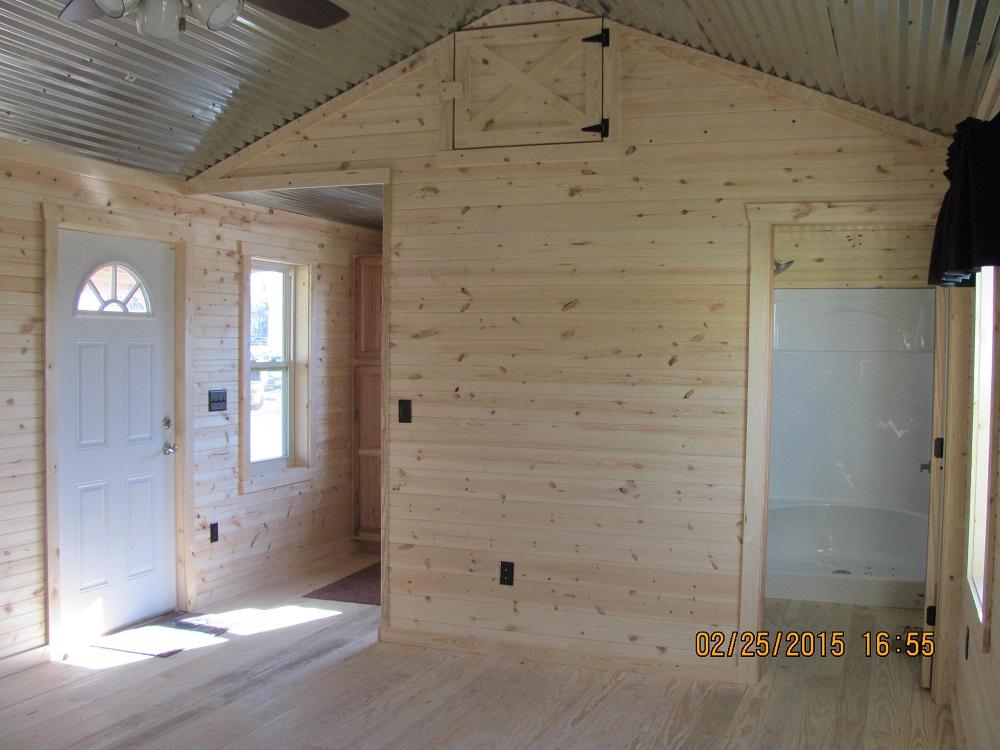 Portable Cabins  16  Prebuilt Finished  Unfinished  Deer Creek Structures