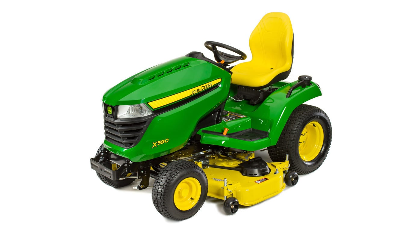X500 Select Series Lawn Tractor X590 48 In Deck John Deere Us