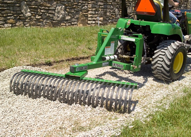 8 John Deere Tillers and 3Point Hitch Attachments for