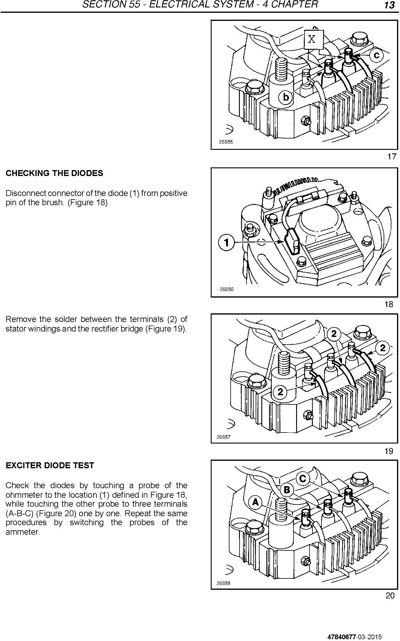 New Holland TD3.50 Tractor Service Manual / Deere