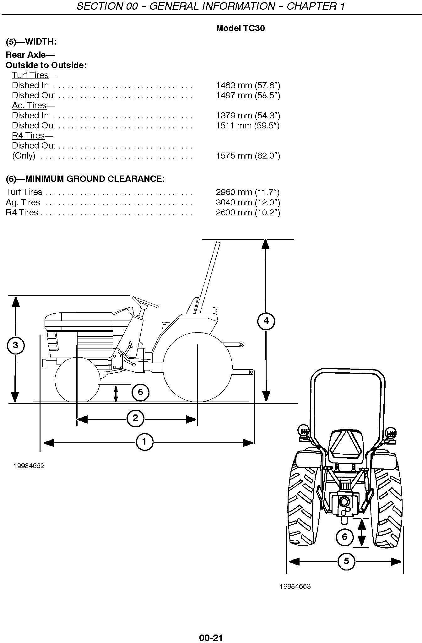New Holland TC30 Tractor Service Manual / Deere Technical