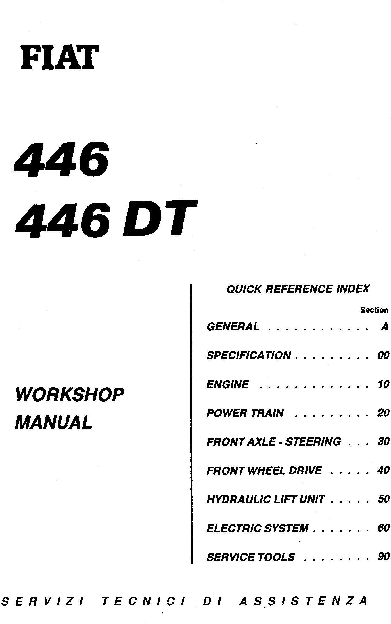 Fiat 446, 446DT, 55-56 (DT), 60-56 (DT), 65-56 (DT), 70-56