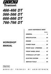Fiat Tractors Service Repair Workshop Manuals / Deere