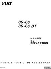 Fiat 35-66 35-66 DT Tractor Service Manual (6035427200