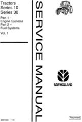 New Holland 7630, 8030 Tractor Service Manual / Deere