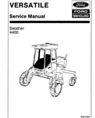 Ford Tractors Service Repair Technical Manual Download