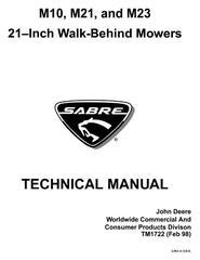 Sabre Lawn and Garden Tractors Diagnostic, Tests