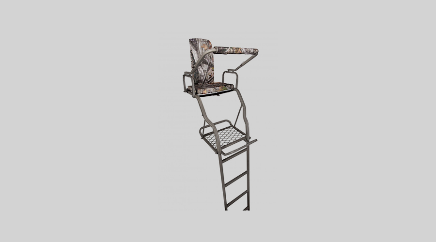 Summit Treestands Crush Series Solo Deluxe Ladder Stand